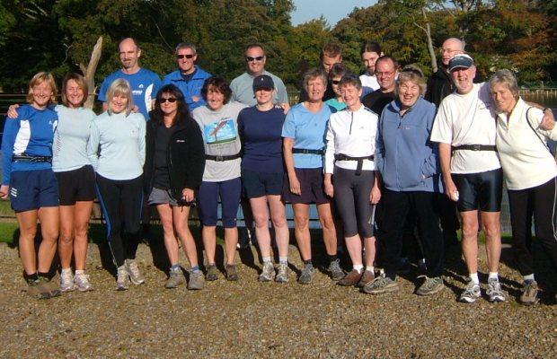 October Social Run Group Photo