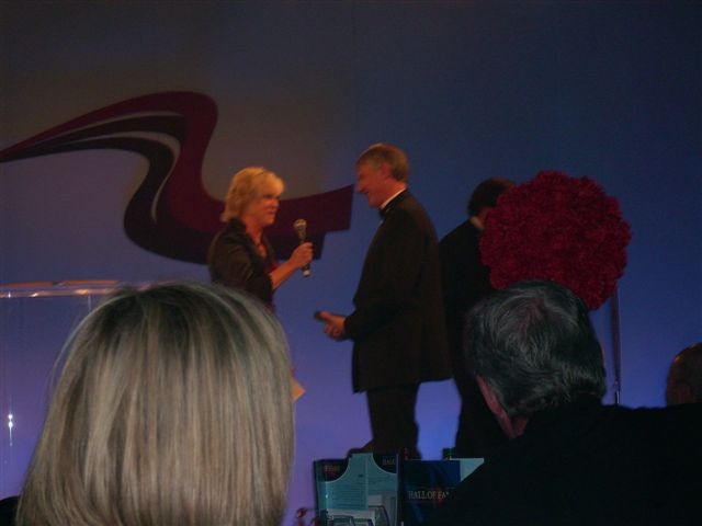 The presentation from Sue Barker.