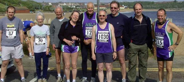 A selection of the thirty-three Striders who ran this one. And whatever you're doing to Christine, Barry, can you stop it.