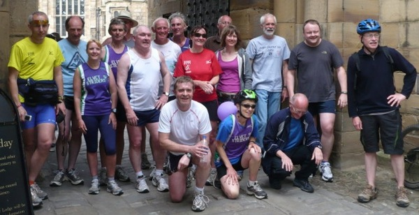 Surviving Striders at the finish
