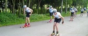 Rollerski Race Start