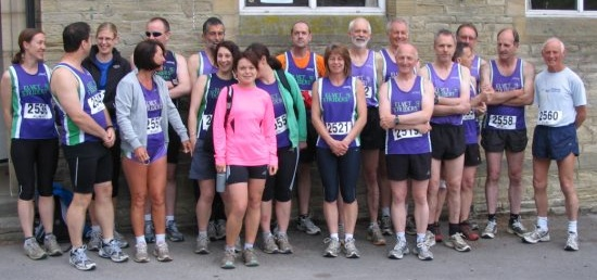 A an even rougher-looking bunch of Striders at the start.