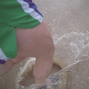 This is Dougie's foot parting the waters, since you ask ...