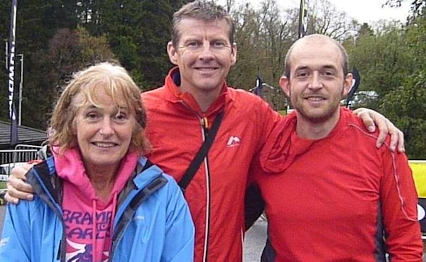 Maggie, Steve Cram and Andrew