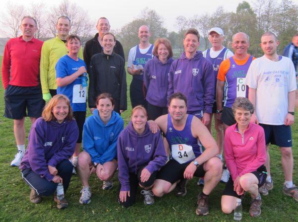 Elvet Striiders at the Neptune relays