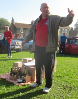 A typical Dave Parry prize giving, from Saltergate Gallows 2011