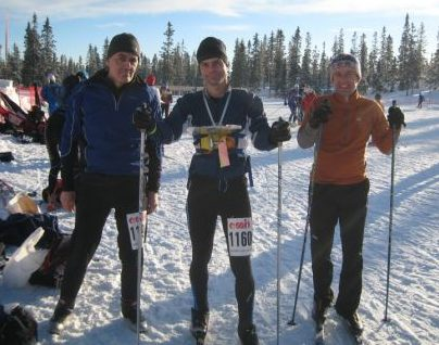 Me, Rob and Chris - 3/5 of teamgb