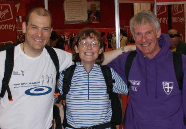 Alister, Kathryn and George at the Expo.