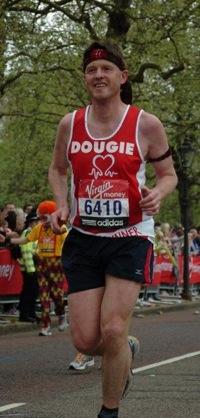 Dougal the Brave running.