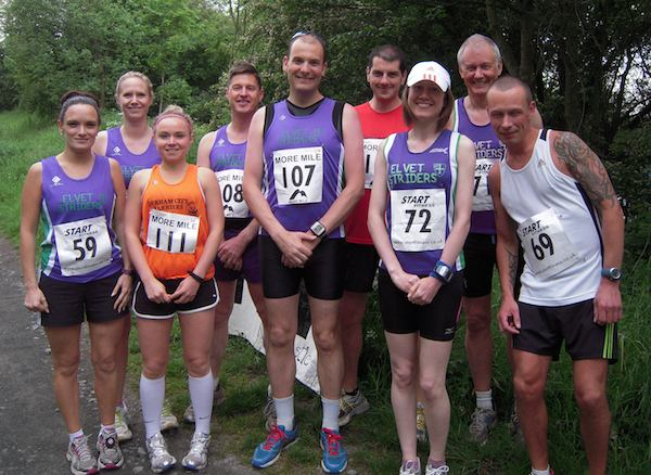 Striders at the George Ogle Memorial 10K