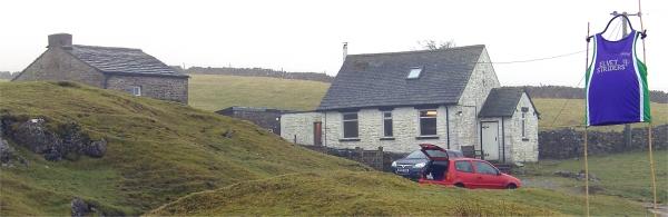 Elvet Striders in residence at Fell End Bunkhouse.