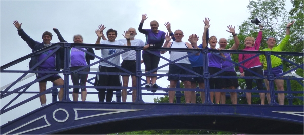 Striders queue to throw midget off bridge.