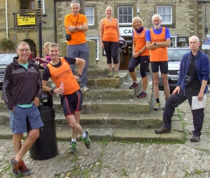 The Relay reaches Helmsley ...