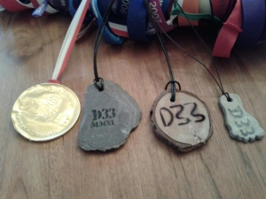 The last four years medals ...