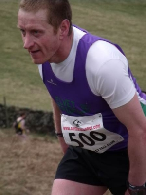 Graeme showing the grit and determination Striders are renowned for ...