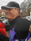 David flying the Elvet Striders colours.