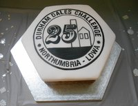 A special 25th anniversary cake.