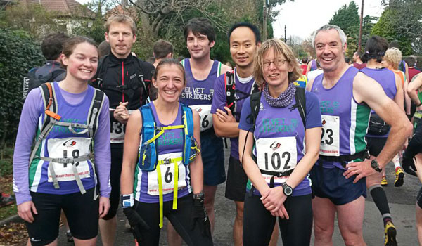 Elvet Striders at Guisborough 3-Tops Fell Race 2014