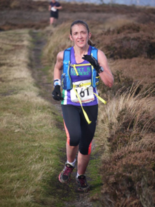 Penny Browell making her fell running debut at Guisborough 3-Tops Fell Race 2014
