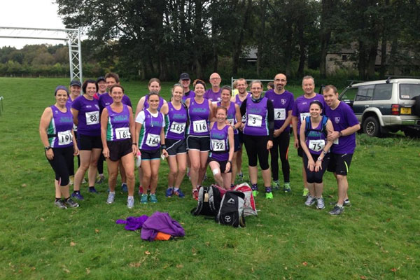 Elvet Striders at the Haltwhistle Half Marathon 2014