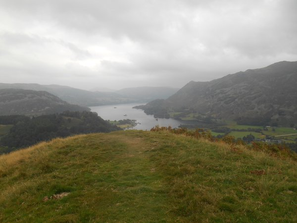 An early view from St Sunday Crag.