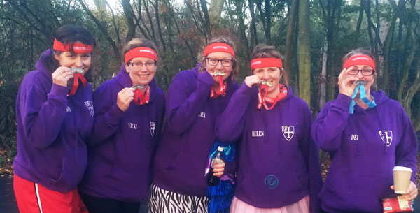 'Mo Sistas' done it for themselves - complete with 'tash' medals!