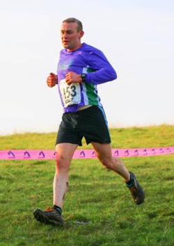 Rob Everson was first man home for Elvet Striders