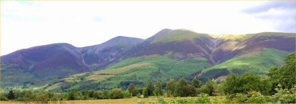 Only one hill: Skiddaw!