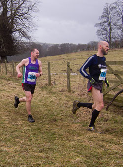 Gareth was first bloke home in Elvet Striders' battle to retain their place in Division 2