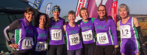 Strider ladies at the Northern XC Championships 2015 - 