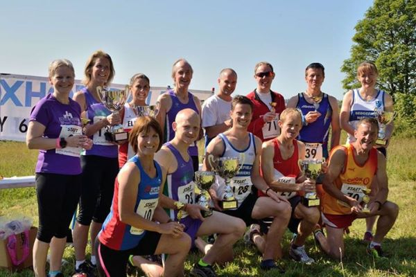 Prizewinning Striders at Coxhoe.