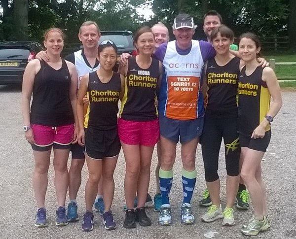 parkrunathors for Acorns Hospice 2015