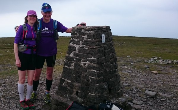 Dave takes his anniversary tech-T for a trip up Ingleborough