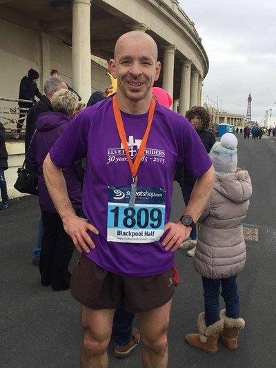 Blackpool Half Marathon.