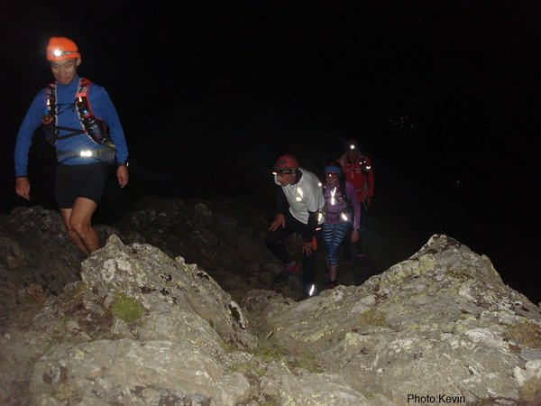 Early hours of Sunday morning going up Blencathra.