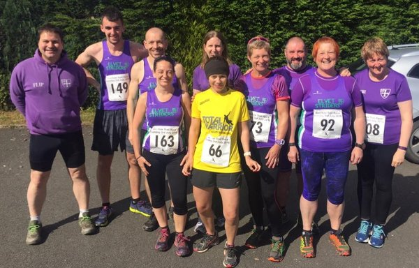 Photo of group of Striders.
