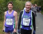 Alan Purvis running his first marathon. Read Shaun's report from 2010