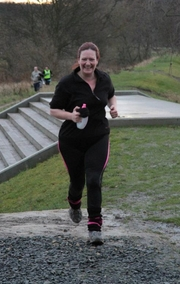 Best running moment 2014 - It hasn't been my best year, no PB's or even close! But I have now encouraged seven members of my fellow Neville's Cross staff around at least 1 parkrun, One has been a Strider for over a year now, one is now a Blackhill Bounder and completed her first 10K then her first 1/2 marathon with me this year and two more have just completed a parkrun after graduating from Kate Macpherson's C25K this month! I completed my 100th parkrun this summer (now on 110!). However my BEST moment of this year was getting my 6 year old nephew to complete his first parkrun after he has been 'training' with me since the summer!! I love sharing what I love (running!) with the people I love! Though I must get back to trying to run fast again at some point! Eeek! Running ambition 2015 - DO SOME RUNNING!!!!! (not be a lazy ass) so I can finallllyyy achieve sub 30 5K and sub 60 10K!! please please please!