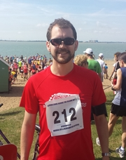 My running moment of the year was my first half marathon, the Mersea Island Round the Island Race